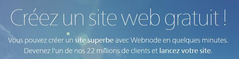 webnode banner