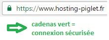 SSL connexion sécurisée