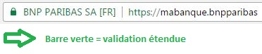 SSL validation étendue